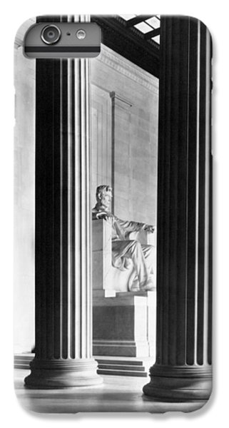 Lincoln Memorial iPhone 6 Plus Case - The Lincoln Memorial by War Is Hell Store