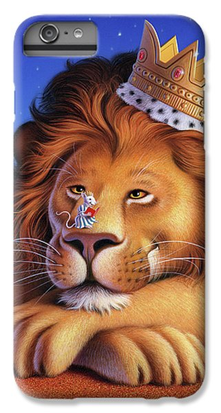 Mouse iPhone 6 Plus Case - The Lion King by Jerry LoFaro