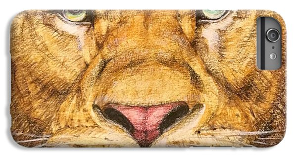 Detail iPhone 6 Plus Case - The Lion Roar Of Freedom by Kent Chua