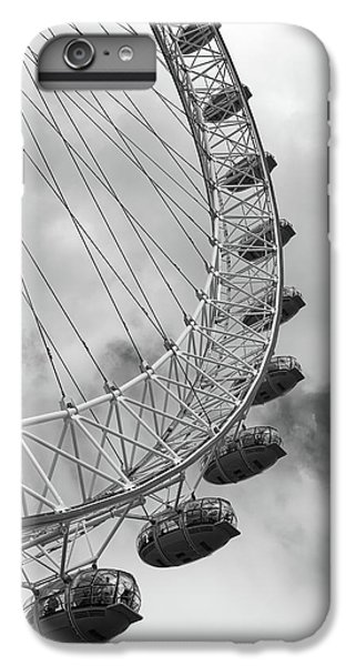 IPhone 6 Plus Case featuring the photograph The London Eye, London, England by Richard Goodrich