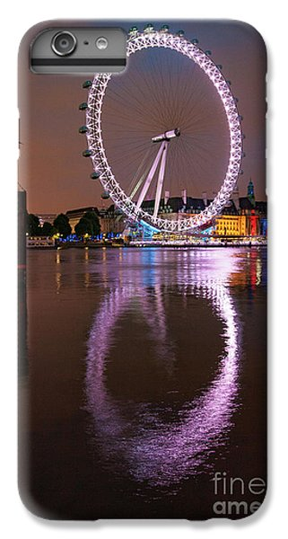 The London Eye IPhone 6 Plus Case by Nichola Denny