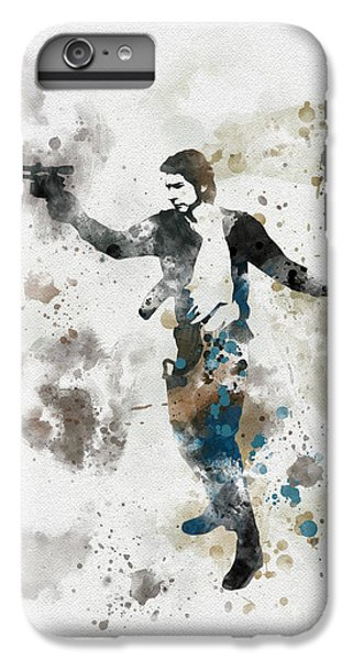 Han Solo iPhone 6 Plus Case - The Loner by My Inspiration