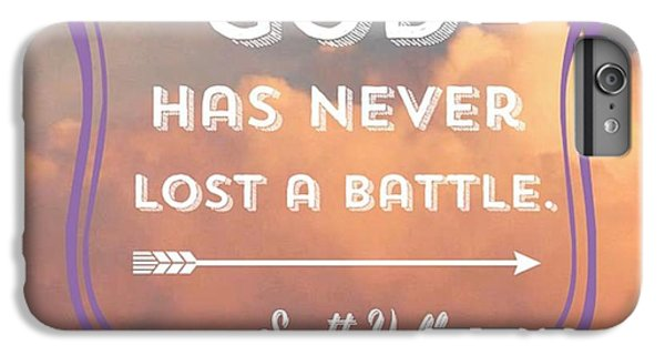 """Design iPhone 6 Plus Case - """"the Lord Is My Strength And My by LIFT Women's Ministry designs --by Julie Hurttgam"""