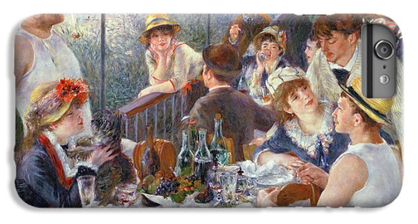 Wine iPhone 6 Plus Case - The Luncheon Of The Boating Party by Pierre Auguste Renoir