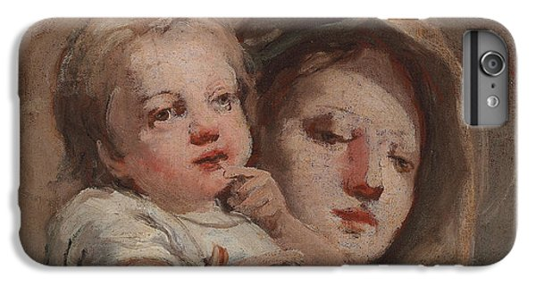 The Madonna And Child With A Goldfinch IPhone 6 Plus Case by Tiepolo