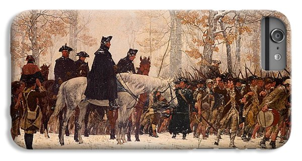The March To Valley Forge IPhone 6 Plus Case