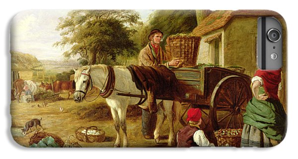 The Market Cart IPhone 6 Plus Case by Henry Charles Bryant
