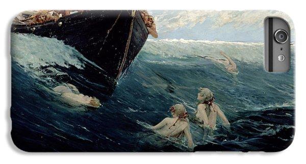 The Mermaid's Rock IPhone 6 Plus Case by Edward Matthew Hale