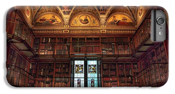 IPhone 6 Plus Case featuring the photograph The Morgan Library Window by Jessica Jenney