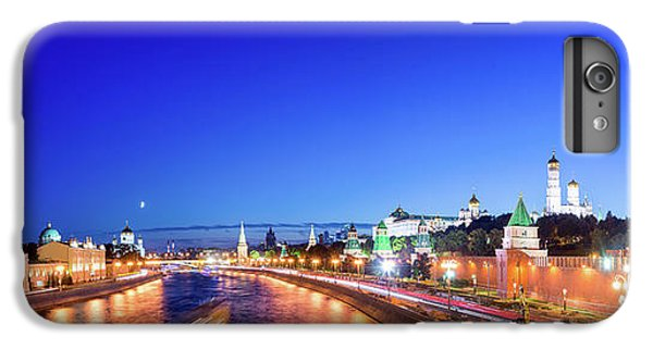 Moscow iPhone 6 Plus Case - Moskva River by Delphimages Photo Creations