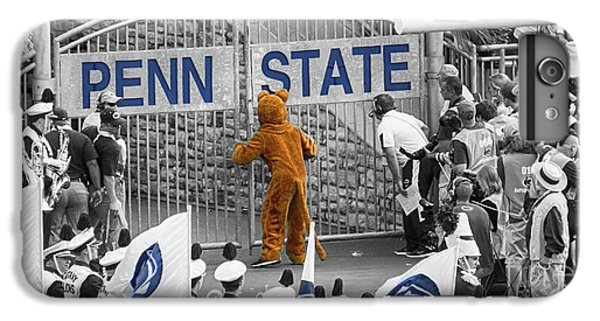 Penn State University iPhone 6 Plus Case - The Name On The Gate by Tom Gari Gallery-Three-Photography
