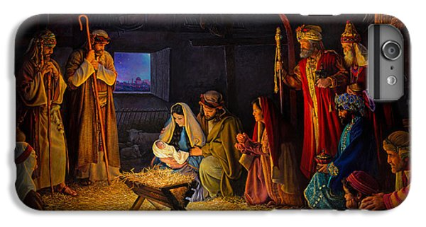 Christ iPhone 6 Plus Case - The Nativity by Greg Olsen