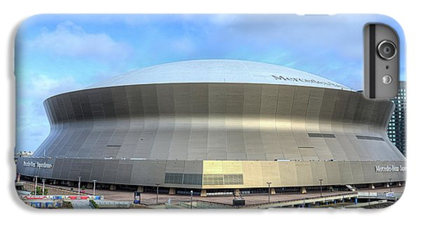 IPhone 6 Plus Case featuring the photograph The New Orleans Superdome by JC Findley