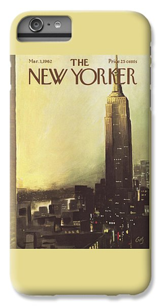 The New Yorker Cover - March 3rd, 1962 IPhone 6 Plus Case