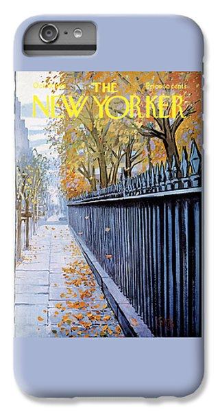 Broadway iPhone 6 Plus Case - Autumn In New York by Arthur Getz