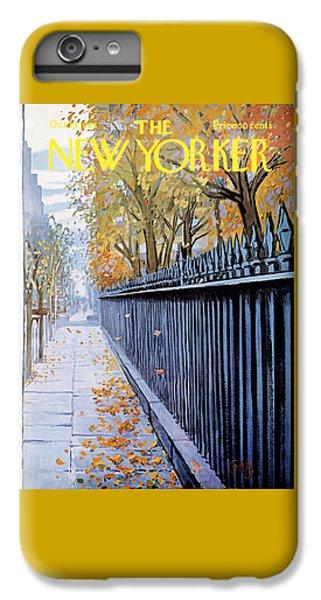 Autumn In New York IPhone 6 Plus Case