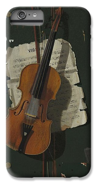The Old Violin IPhone 6 Plus Case by John Frederick Peto