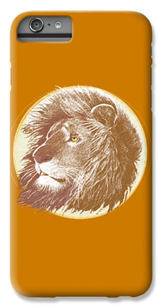 The One True King IPhone 6 Plus Case by J L Meadows