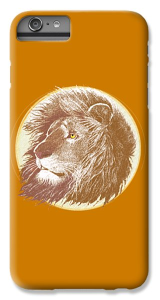 Lion iPhone 6 Plus Case - The One True King by J L Meadows