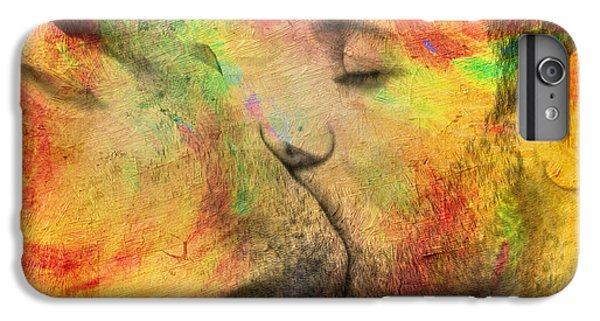 Nudes iPhone 6 Plus Case - The Passion Of A Kiss 1 by Mark Ashkenazi