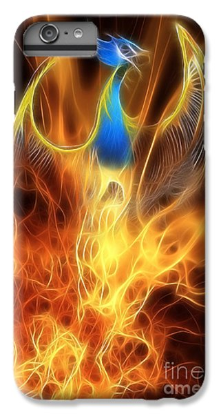 Phoenix iPhone 6 Plus Case - The Phoenix Rises From The Ashes by John Edwards