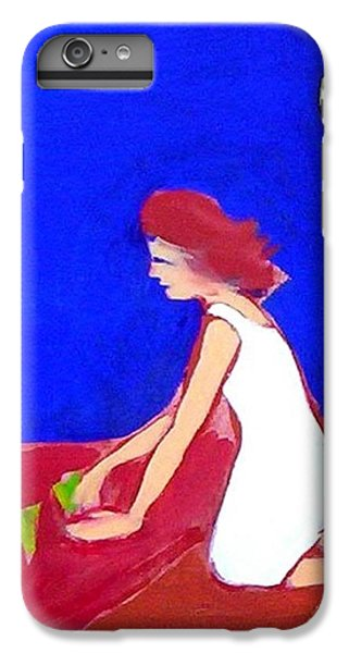 IPhone 6 Plus Case featuring the painting The Planting by Winsome Gunning