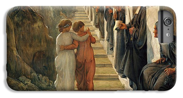 Barren iPhone 6 Plus Case - The Poem Of The Soul - The Wrong Path by Louis Janmot