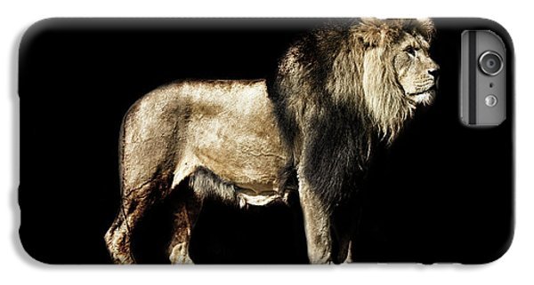 Lion Head iPhone 6 Plus Case - The Powerful by Martin Newman