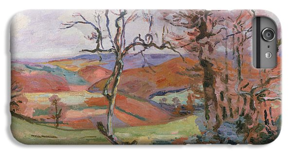 Barren iPhone 6 Plus Case - The Puy Barion At Crozant by Jean Baptiste Armand Guillaumin