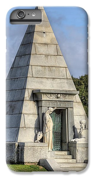 IPhone 6 Plus Case featuring the photograph The Pyramid In Metairie Cemetery by JC Findley