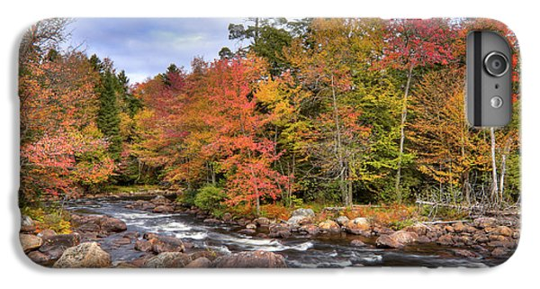 IPhone 6 Plus Case featuring the photograph The Rapids On The Moose River by David Patterson