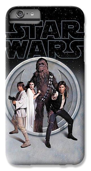 Han Solo iPhone 6 Plus Case - The Rebels Phone Case by Edward Draganski