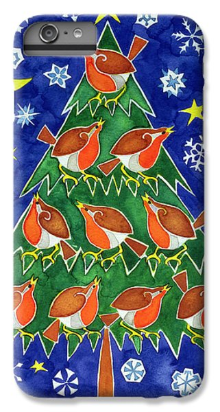 The Robins Chorus IPhone 6 Plus Case by Cathy Baxter