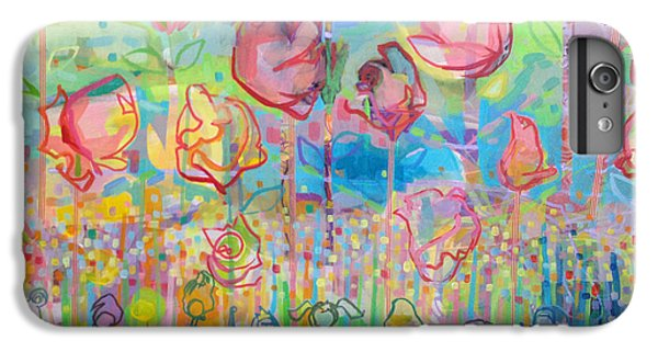 The Rose Garden, Love Wins IPhone 6 Plus Case by Kimberly Santini