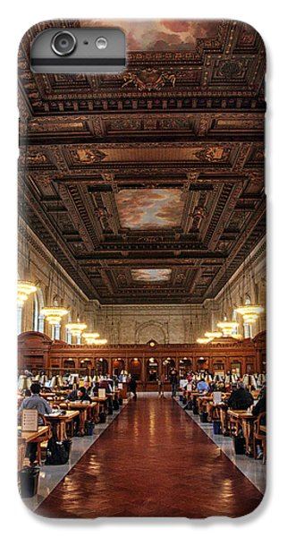 IPhone 6 Plus Case featuring the photograph The Rose Reading Room II by Jessica Jenney