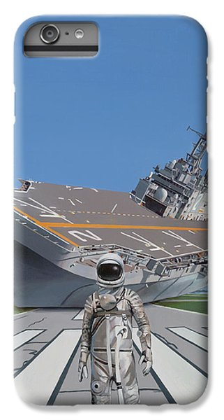 Astronauts iPhone 6 Plus Case - The Runway by Scott Listfield