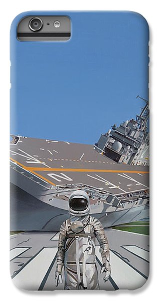 IPhone 6 Plus Case featuring the painting The Runway by Scott Listfield