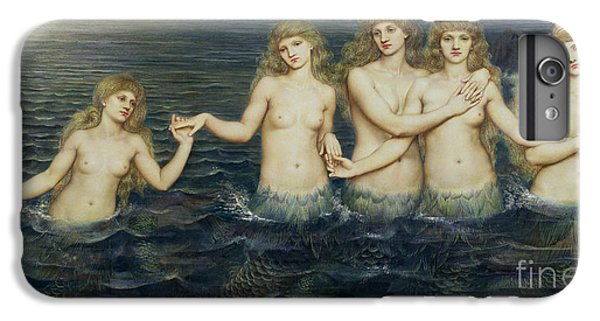 The Sea Maidens IPhone 6 Plus Case by Evelyn De Morgan