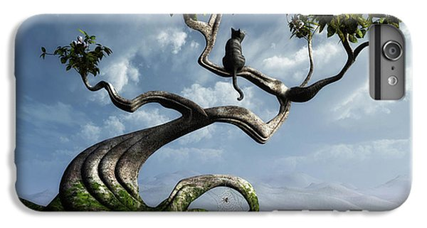 Butterfly iPhone 6 Plus Case - The Sitting Tree by Cynthia Decker