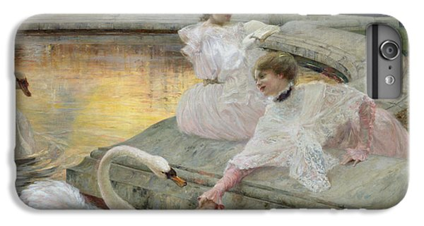 Swan iPhone 6 Plus Case - The Swans by Joseph Marius Avy