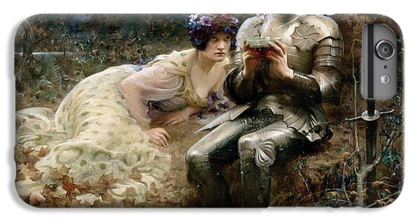 The Temptation Of Sir Percival IPhone 6 Plus Case by Arthur Hacker