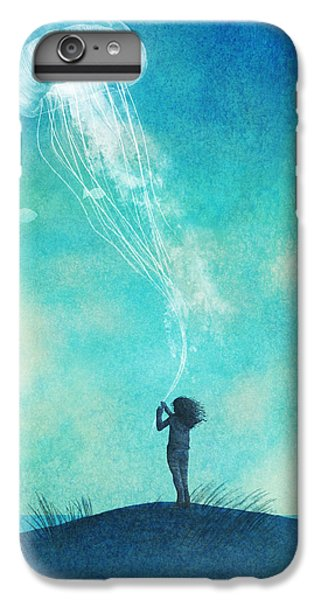 Beach iPhone 6 Plus Case - The Thing About Jellyfish by Eric Fan
