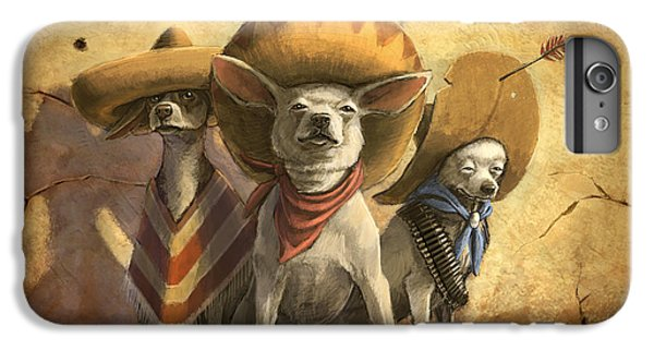 The Three Banditos IPhone 6 Plus Case