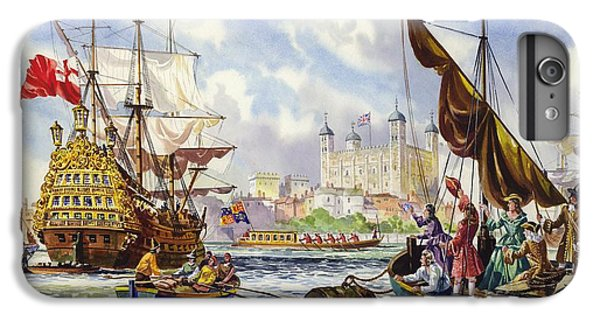 The Tower Of London In The Late 17th Century  IPhone 6 Plus Case by English School