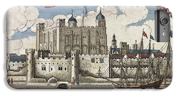 The Tower Of London Seen From The River Thames IPhone 6 Plus Case by English School