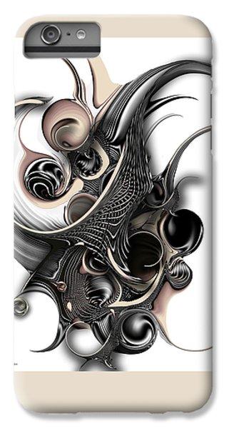 IPhone 6 Plus Case featuring the digital art The Unfolding Purity by Carmen Fine Art