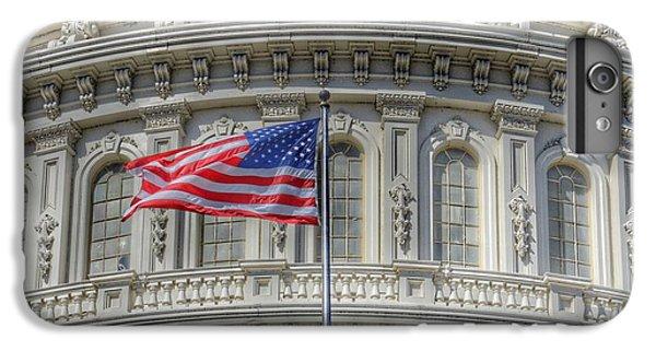 Capitol Building iPhone 6 Plus Case - The Us Capitol Building - Washington D.c. by Marianna Mills