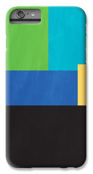 The View From Here- Modern Abstract IPhone 6 Plus Case by Linda Woods