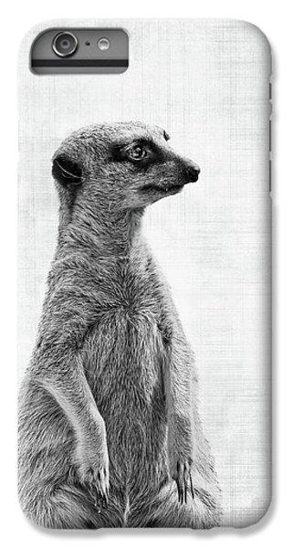 Meerkat iPhone 6 Plus Case - The Watcher by Delphimages Photo Creations