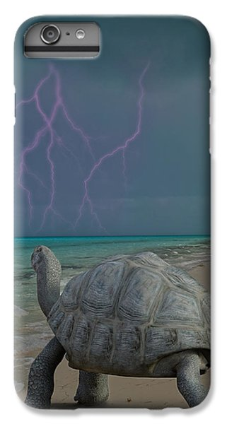 Tortoise iPhone 6 Plus Case - The Wonders Of Mother Nature by Betsy Knapp